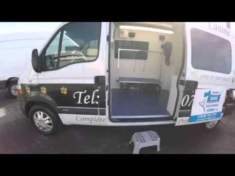 Mobile Dog Grooming Van Conversion