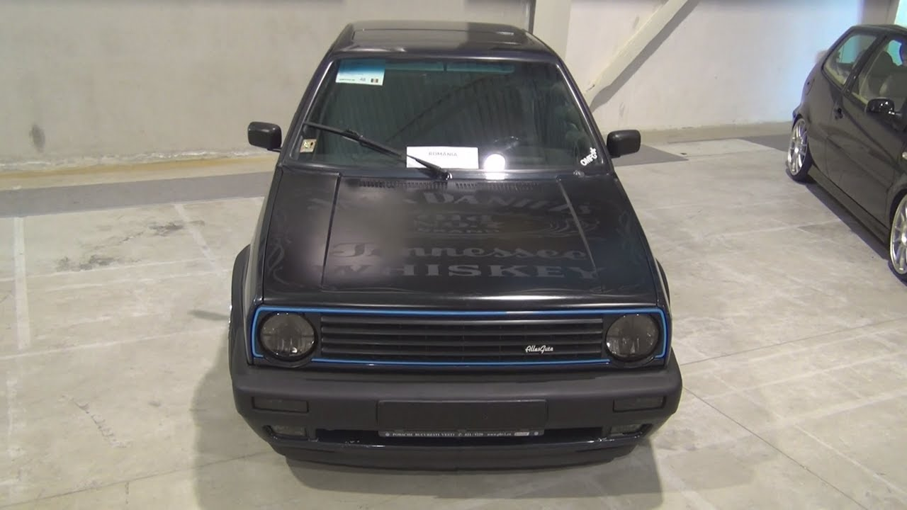 Volkswagen Golf Mk2 Gti Tuned 1990 Exterior And Interior Youtube