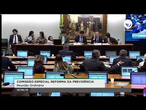 Comissão Especial da Reforma da Previdência - Discussão de relatório - 19/06/2019 - 09:48