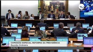 Comissão Especial da Reforma da Previdência - Discussão de relatório - 19/06/2019 - 09:48 thumbnail