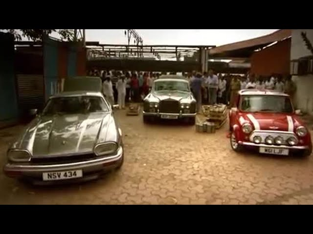 Meals on Wheels through Bombay | Top Gear Christmas Special 2011 | Top Gear | BBC