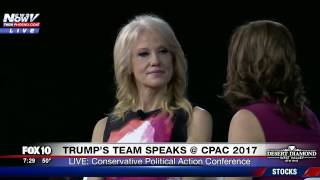 WATCH: KellyAnne Conway Speaks on Motherhood, Feminism and Trump at CPAC 2017 (FNN)
