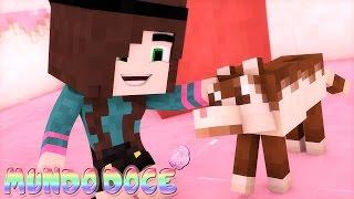 Minecraft: FIZ UM AMIGO! | MUNDO DOCE #12