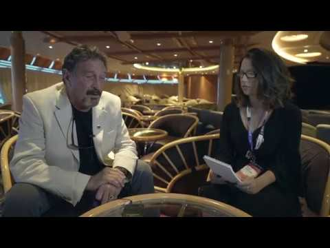 "John Mcafee interview, ""The Bitcoin bet? It's still valid"