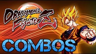 Dragon Ball FighterZ super Son Goku combos CMV