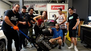 homepage tile video photo for FIXING LEXY'S BROKEN 350Z DRIFTCAR