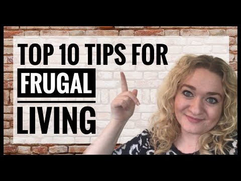 Top 10 Budget Living Tips - How to Live Well for Less - Ideas to Save Money - Frugal Hints and Tips