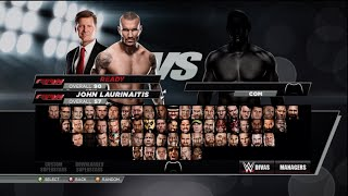 WWE 2K15 Full Roster Including Superstars, Divas and Managers!