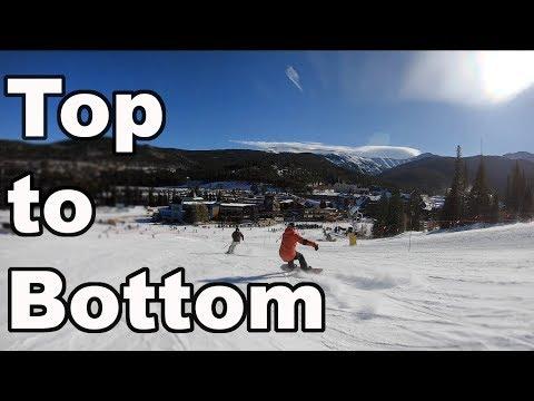 Winter Park Opening Day 2019 Ski Season - (Top To Bottom)