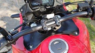 Honda CB500X (2019): Wind buffeting beheben – do it yourself | Piotrrr Moto