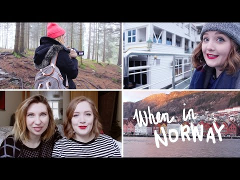 When In Norway | Visiting Bergen w/ Marion.