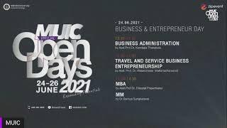 MUIC Open Day LIVE! : June 24, 2021 Morning