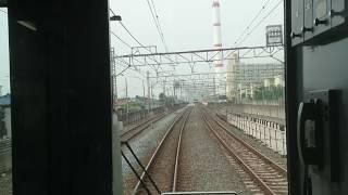 竹ノ塚下り急行線高架化直前  東武鉄道30000系(31406F+31606F)西新井~草加