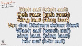 Sarah Connor - Hör auf deinen Bauch  - Cover by rolf rattay