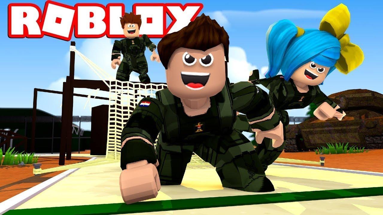 Roblox Military Obby Dansk