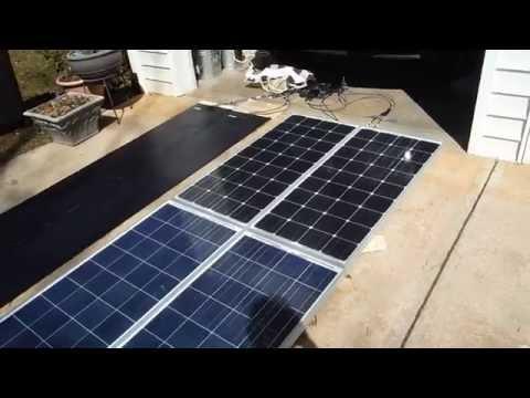 Solar panel comparison, Part 1