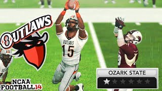 The Outlaw for the Outlaws! NCAA 14 Team Builder Dynasty Ep. 9