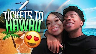 I Surprised My Crush With A Trip To Hawaii For Valentines Day! (She Was Excited)