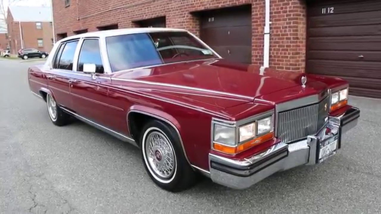 ~SOLD~1989 Cadillac Brougham DeElegance For Sale
