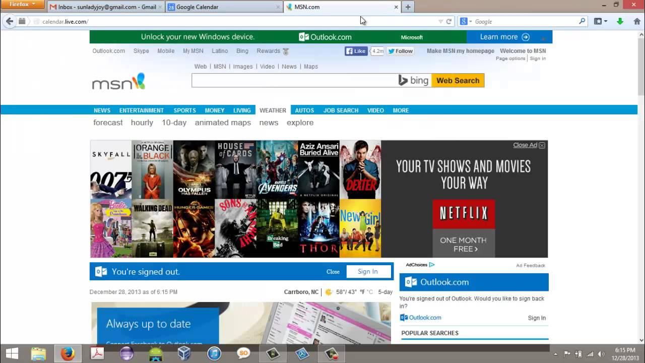 how to make msn my homepage on windows 8