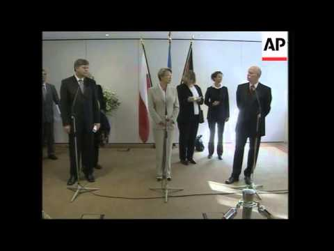 French, German and Polish defence ministers meet