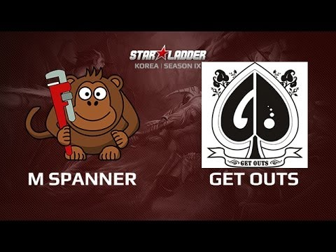 Monkey Spanner -vs- get outs, Star Series Korea Day 5 Game 4