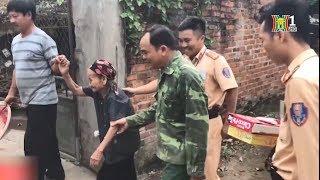 CSGT Hà Nội tìm gia đình giúp cụ già 90 tuổi bị lạc đường trên QL21A | Nhật ký 141