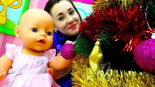 Новогодние Видео про #куклы и пупсы: куколка Беби Бон Эмили и #елка. Игрушки для девочек(Новогодние видео про куклы, #пупсы, пупсики и #игрушки для девочек на нашем ютуб канале «Мамы и дочки». Кукол..., 2016-11-24T10:03:35.000Z)