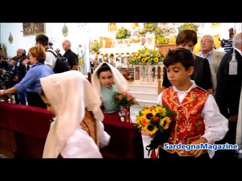 Selargius, (Ca):  Oggi la   57a edizione dell'Antico Sposalizio Selargino - 10  settembre 2017