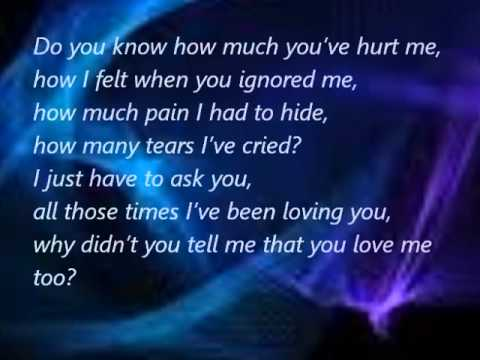 Even Though You Broke My Heart Quotes Youtube