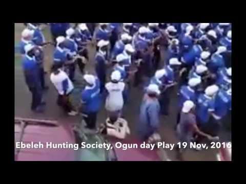 Ebeleh Hunting Society Freetown Sierra Leone Ogun Day play