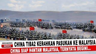 Download BERITA TERKINI ~ CHINA TIBA2 KER4HKAN PASUKAN KE MALAYSIA, CHINA SIAP H4NTAM!! TERNYATA BEGINI...