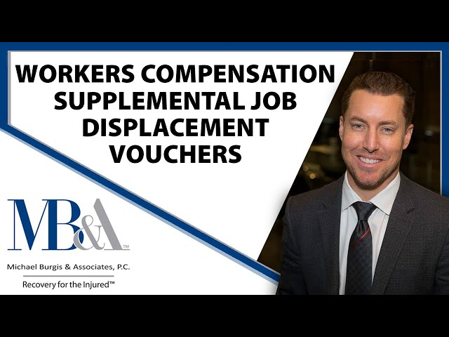 Supplemental Job Displacement Vouchers - Workers' Compensation retraining vouchers