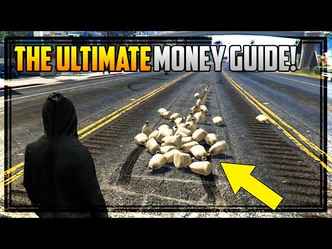 THE ULTIMATE GTA ONLINE MONEY GUIDE! Explaining Every Money Making Method!