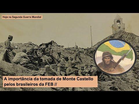 A importância da tomada de Monte Castello pelos brasileiros da FEB