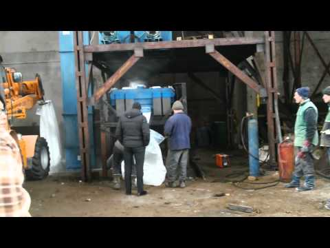 Russia white potassium chloride granule manufacturing video GZL650