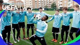 København - skills & tricks - UEFA Youth League skills challenge