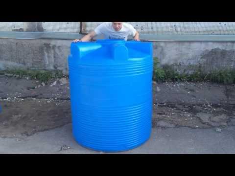 - 1000 л пластиковый бак для воды серия V - Полимер Групп