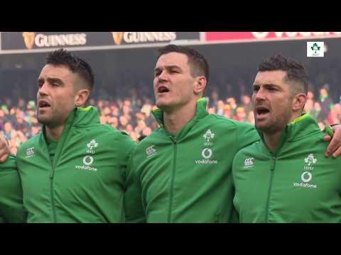 Irish Rugby TV: Ireland v Wales - Tunnel Cam At Aviva Stadium