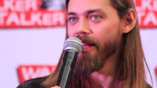 WSC London 2017: Tom Payne about his hair & his beard and the TWD casting