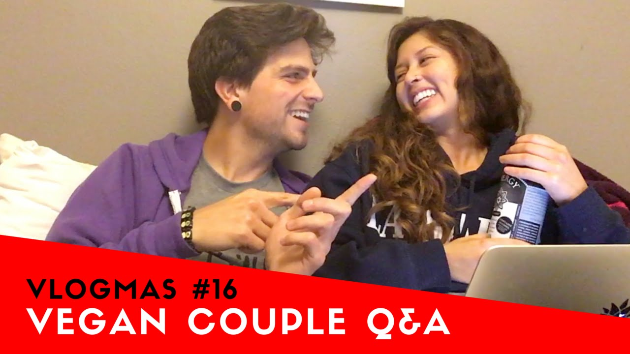 Vegan Couple Q&A / Boyfriend Tag Part 2 + Our First Kiss | VLOGMAS DAY 16: