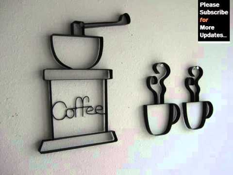 Collection Of Metal Wall Decor Sets | Metal Wall Art Ideas - YouTube