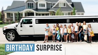 Picked Up In A Limousine For My Birthday Party | Birthday Surprise | The LeRoys