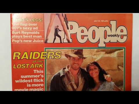 """Raiders of the Lost Ark"" - People Magazine (1981)"