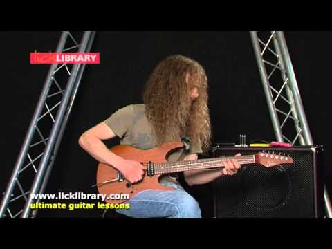 Guthrie Govan - Ner Ner - Guitar Performance Live - Licklibrary Webcast
