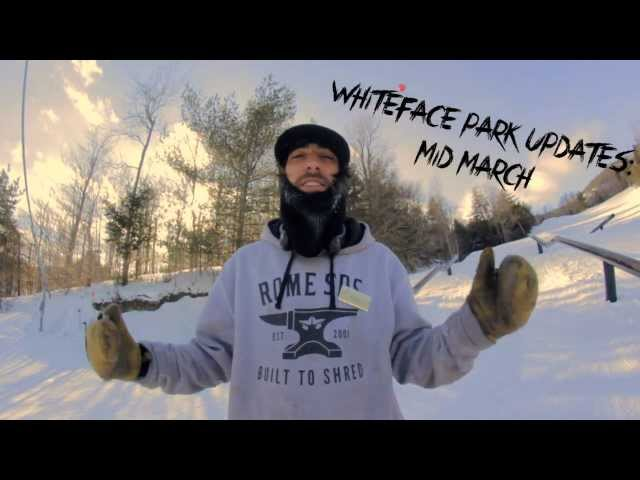 Whiteface Park Update: Mid March '14