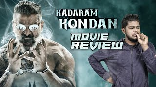 Kadaram Kondan Movie Review by Vj Abishek | Vikram | Akshara Haasan | Open Pannaa