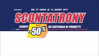 Volantino Trony SCONTATRONY sconti fino al -50%!
