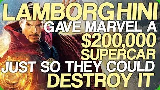 Lamborghini Gave Marvel a $200,000 Supercar Just so They Could Destroy it (Honest Advertising)