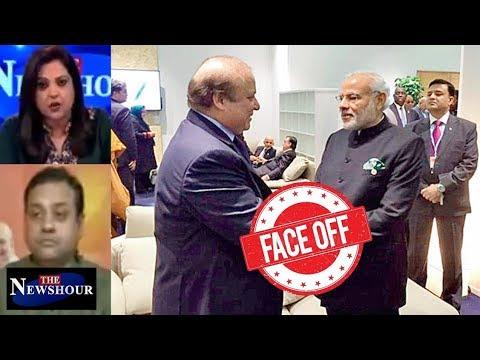 SCO Summit - PM Modi Meets Nawaz Sharif In Astana: The Newshour Debate (8th June)